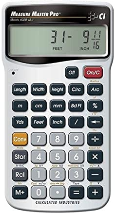 $29 » Calculated Industries 4020 Measure Master Pro Measurement Conversion Calculator