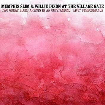 Memphis Slim and Willie Dixon at the Village Gate
