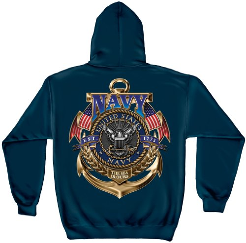 Us Navy Hoodie Men's