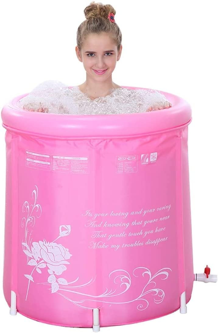 Folding bathtub 70cm Free shipping anywhere in the nation Blue And For Foldable Bathtubs wholesale Adults Pink