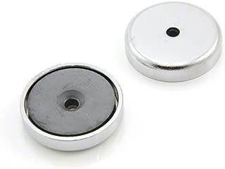 First4magnets FR2058-10 Pack de 10 Aimants danneau en Ferrite Y30BH 0,65 kg de traction ⌀ 20 ext/érieur x ⌀ int/érieur 5 x 8 mm