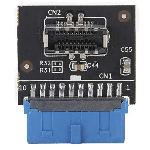 Conector Macho Tipo-E de Cabezal de Placa Base a Conector USB3.0 Adaptador de expansión A-Key para PC para Placa Base