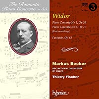 Romantic Piano Concerto Vol.55 - Widor: Piano Concertos by Markus Becker (2011-11-08)