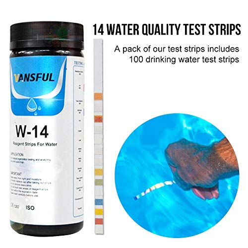 lembrd zwembad teststrips, drinkwaterteststrips, 14 begrippen drinkwaterkwaliteit zwembadwaterkwaliteit restchloor pH-zuur alkaliteit hardheid