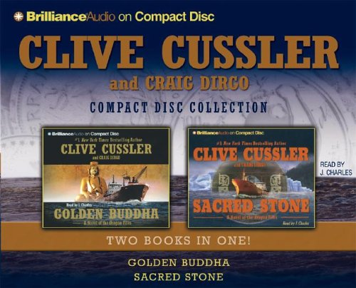 Clive Cussler CD Collection: Golden Buddha and Sacred Stone (Oregon Files Series)