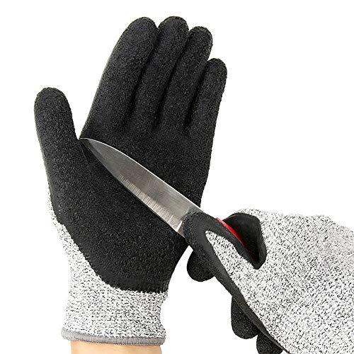 KunLS Gartenhandschuh Gartenhandschuhe Dornenfest Arbeitshandschuhe Herren Gartenarbeit Handschuhe Große Handschuhe Arbeit Sicherheit Garten Handschuhe Für Damen Herren Gartenarbeit Handschuhe S