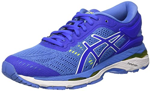 Asics Gel-Kayano 24, Zapatillas de Entrenamiento Mujer, Morado (Blue Purple / Regatta Blue / White), 37 EU
