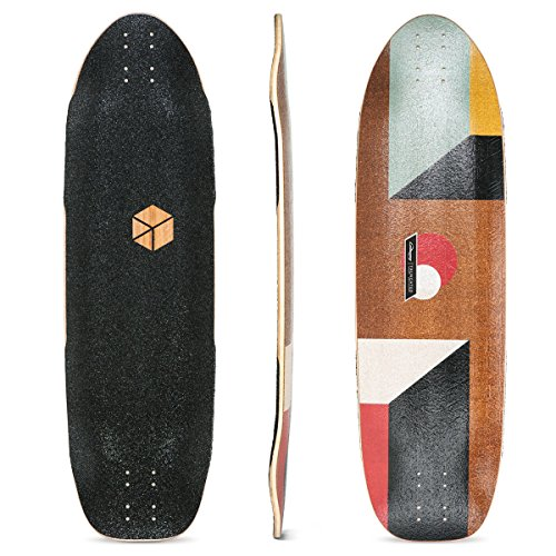 Loaded Boards Truncated Tesseract Bamboo Longboard Skateboard Deck