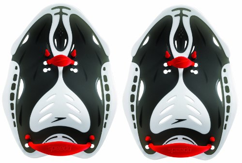 Speedo Biofuse, Power Paddle Accessorio Nuoto Unisex Adulto, Red, M