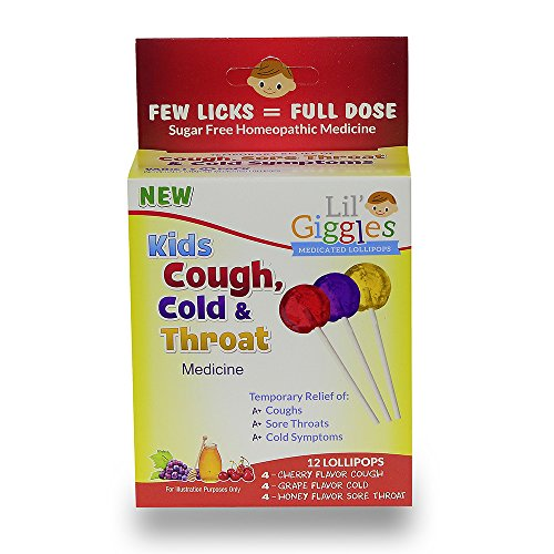 Lil' Giggles Kid's Cough, Cold &...