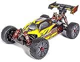 Carson 500409072 1:8 Virus Rocket 120 6S 2.4G 100% RTR, Ferngesteuertes Auto, RC-Fahrzeug,...