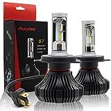 Autofeel【正規品】 ヘッドライト LED H4 6500K 8000LM DC9V-32V 社製LEDチップ搭載モデル 5年保証