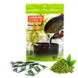 Best Matcha Teas - Superfood Science Ceremonial Matcha Packets, USDA Organic Japanese Review