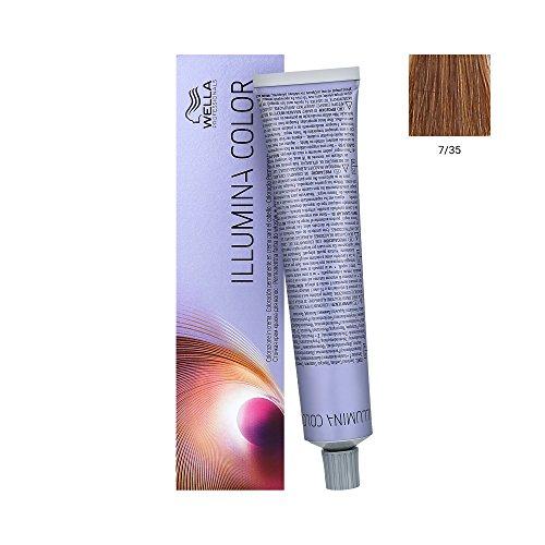 Wella Illumina Color 7/35 mittelblond/gold-mahagoni 60ml