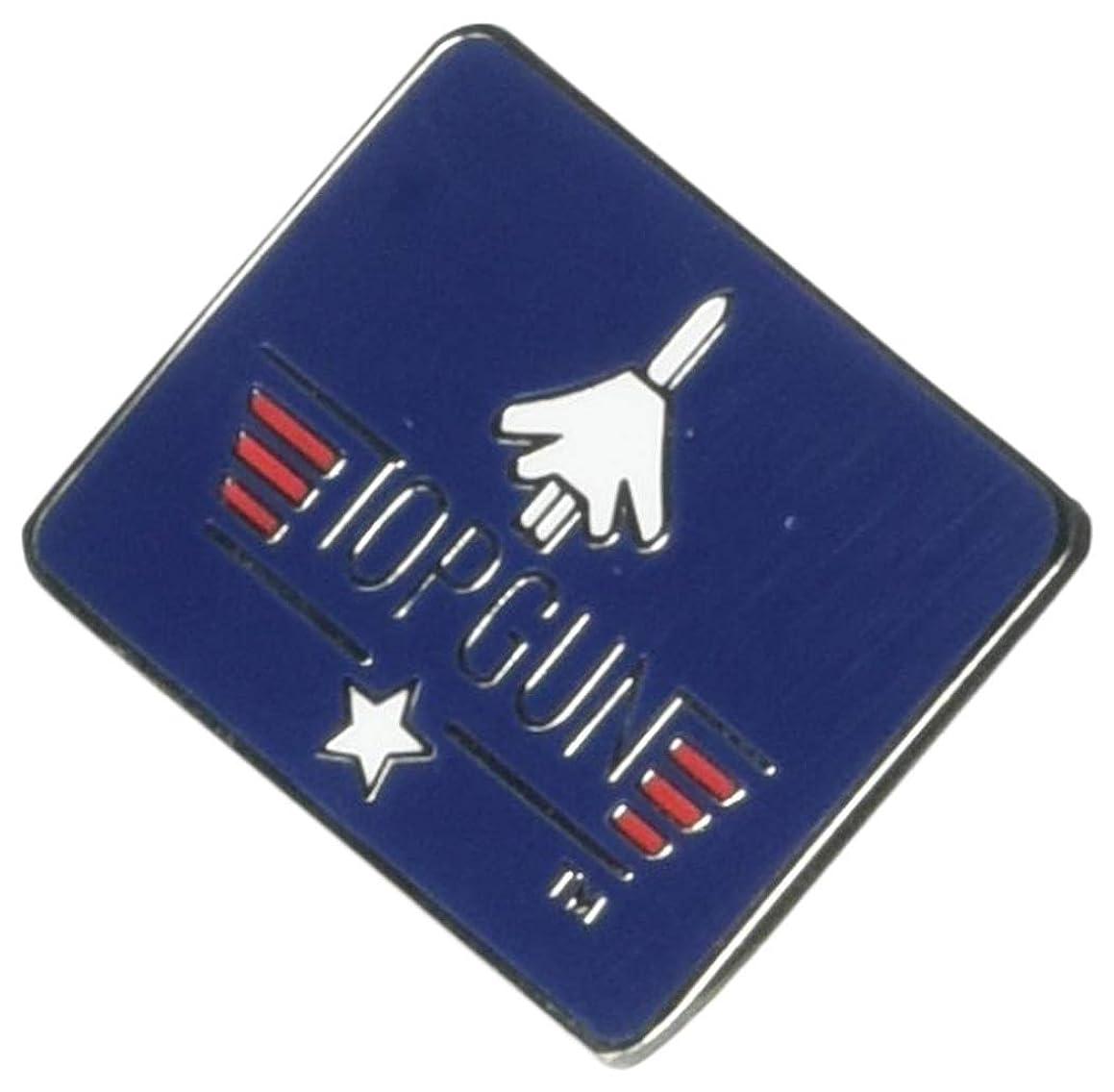 EagleEmblems P00440 Pin-Usn,Top Gun,Rectangle (1'')