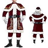QINQI XL Ropa De Fiesta De Baile De Navidad Ropa De Navidad Cos Disfraces Uniformes Pareja Trajes De Escenario De Papá Noel