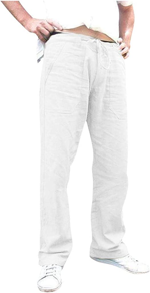 2021 autumn and winter new Forthery-Men Pants for Men Skinny Mesa Mall Elas Slacks Casual Sweatpants