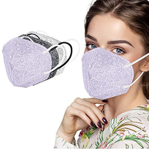 MaNMaNing Protección 5 Capas con Elástico para Los Oídos