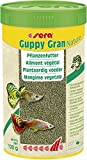 Sera Guppy Gran Alimento de Plantas o pienso Vegetal para Peces, granulado Blando de Lento...