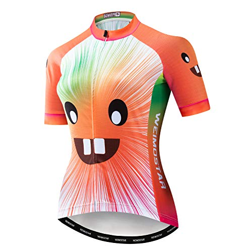 Maillot de ciclismo para mujer 2020 MTB – Camiseta de ciclismo, Manga...