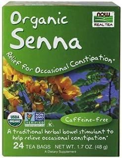 Senna Tea, 24 pk by Now Foods (Pack of 6)