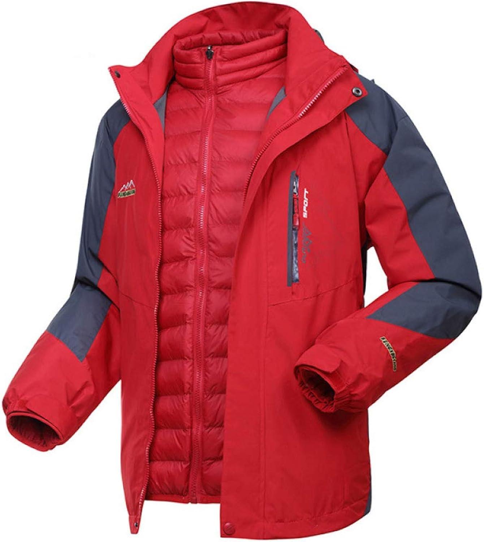 Light Weight Coat For Men Jacket Parka Softshell Outdoor Winter Camping Raincoat