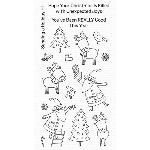 My Favorite Things MFT Clear Stamps HOL, Joyous Holidays