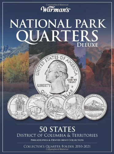 National Parks Quarters Deluxe: 50 States + District of Columbia & Territories: Collector's Deluxe Quarters Folder 2010…