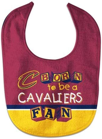 WinCraft NBA Born to be a Bib Manufacturer direct delivery Fan OFFicial All Pro Cavaliers Baby