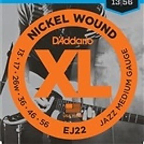 D Addario D Addario EJ22 Electric Guitar Strings Medium Jazz Electric 1 Set product image