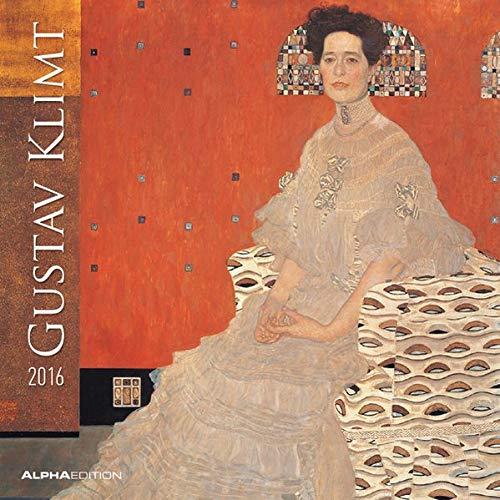 Gustav Klimt 2016 - Broschürenkalender (30 x 60 geöffnet) - Kunstkalender - Wandplaner