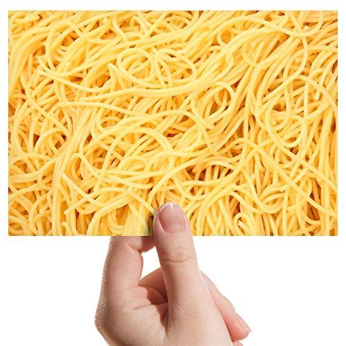 Photograph 6' x 4' - Spaghetti Pasta Food Italian Art Print 15 X 10 cm (6 X 4 in) 280gsm satin gloss photo paper #8263