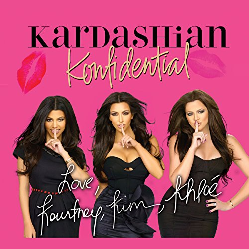 Kardashian Konfidential audiobook cover art