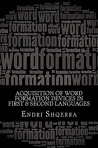 Book: Acquisition of Word Formation Devices in First & Second Languages - Morphological Cross-linguistic Influence by Endri Shqerra [Kindle edition]]
