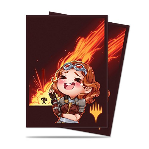 Ultra Pro Chibi Collection Chandra - LOL! Standard Deck Protector Sleeves 100ct for Magic
