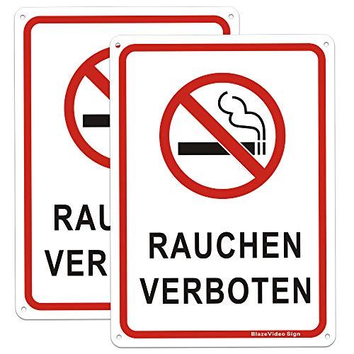 10 Aufkleber Nichtraucher Rauchen verboten 3 cm Rauchverbot MATT WEISS  Ablösbar