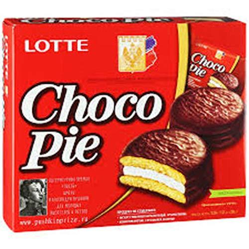 Kekse Choco Pie 3 Packungen 36 Stück (3 x 336g) Marshmallow Schaumzucker Füllung & Schoko