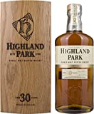 Highland Park 30 Year Old Malt Scotch Whisky in a Wooden Box