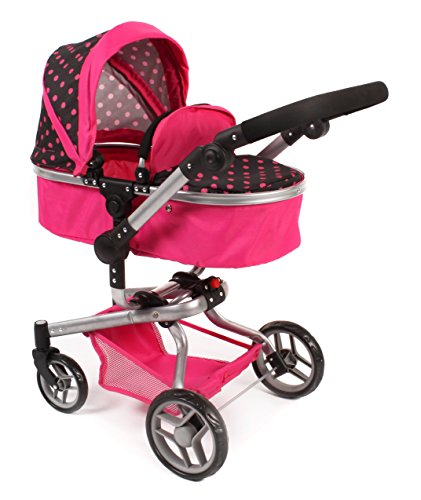 Bayer Chic 2000 593 05 - Kombi-Puppenwagen YOLO, rosa