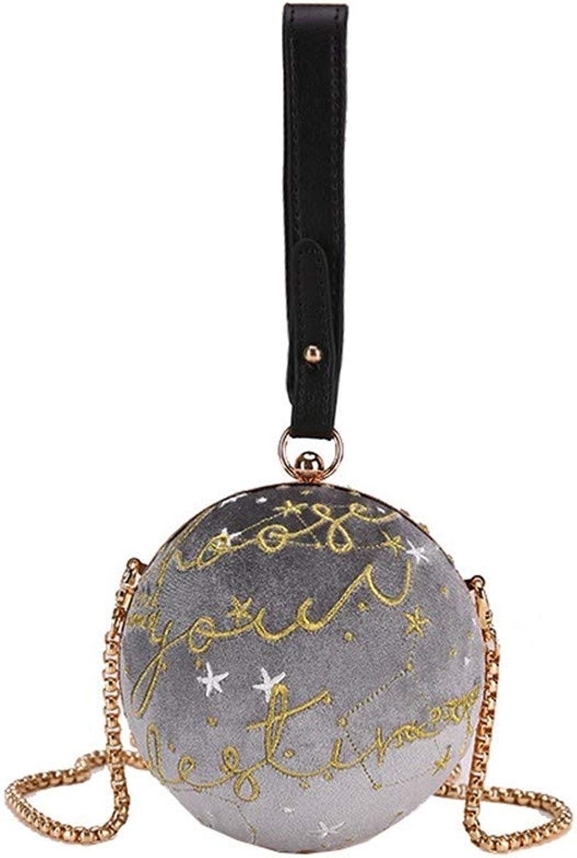 088a7bf76e088 ZLULU Damen-Schultertaschen Damenhandtaschen Bag Weibliche Weibliche  Weibliche Stickerei Buchstaben Frische Und Elegante Wilde Schulter Schulter  Diagonale ...