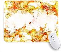 マウスパッド 秋の自然林秋森の木落ち葉公園の道素朴な季節の色の風景 ゲーミング オフィス最適 高級感 おしゃれ 防水 耐久性が良い 滑り止めゴム底 ゲーミングなど適用 用ノートブックコンピュータマウスマット