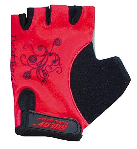 SULOV - Radsport-Handschuhe für Jungen in Rot, Größe L