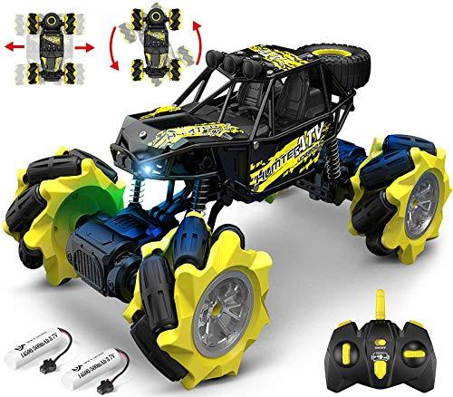 DoDoeleph 1/16 ferngesteuertes Auto, RC Auto Offroad, RC Car, RC Monstertruck, Auto ferngesteuert Kinder, Spielzeug Auto für Kinder Jungen Mädchen ab 4 5 6 Jahre