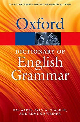 The Oxford Dictionary of English Grammar (Oxford Quick Reference) (English Edition)