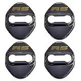 NA 4 unids/Set Cierre de Puerta de Acero Inoxidable Hebilla Cubierta de protección para Honda RS FIT HRV Civic Jade Jazz GK5