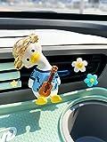 LYDP Interior para coche, aromaterapia, salida de aire, decoración, perfume, dibujos animados, lindo pato