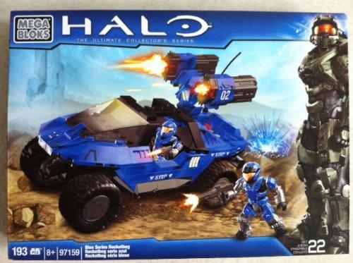 HALO Blue Series Rocketthog 97159 Mega-Blocks.