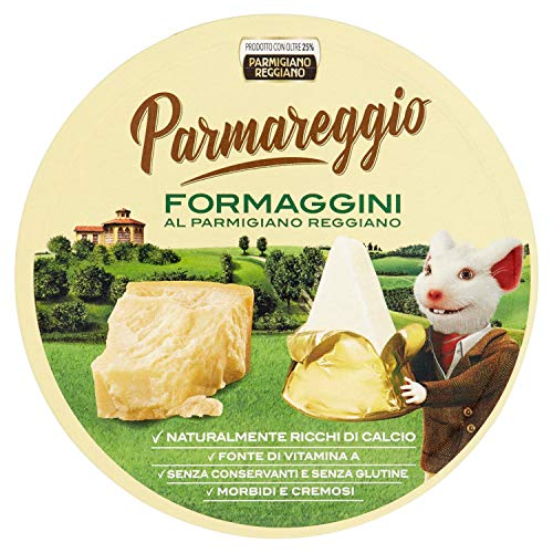 Parmareggio 8 Formaggini al Parmigiano Reggiano, 140g