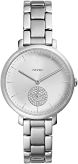 Fossil Womens Quartz Watch, Analog Display and Stainless Steel Strap ES4437
