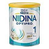 Nestlé Nidina 1 Optipro dalla Nascita, Latte per Lattanti Polvere, 6 Confezioni da 800g